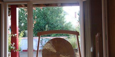 Bain de Gong au Jardin Intérieur à Nantes