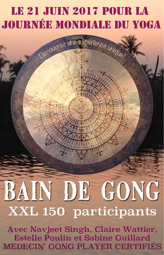 Bain de Gong XXL à Nantes