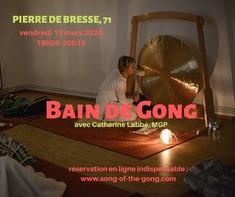 Bain de Gong à Pierre de Bresse, 71